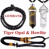 Bán Mua Cặp Đa Opal Mắt Hổ Howlite Tự Nhien Kem Vong Cổ Gemstone Bank Hồ Chí Minh