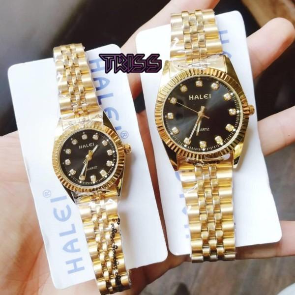 Nơi bán Cặp Đồng hồ Halei nam nữ cao cấp chống xước chống nước tuyệt đối (Giá 1 đôi)