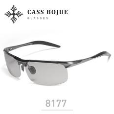 XÃ CASS BỘ BOJUE 8177 siêu nhẹ nhôm magie kính mát, nam đổi màu Kính Mát-quốc tế