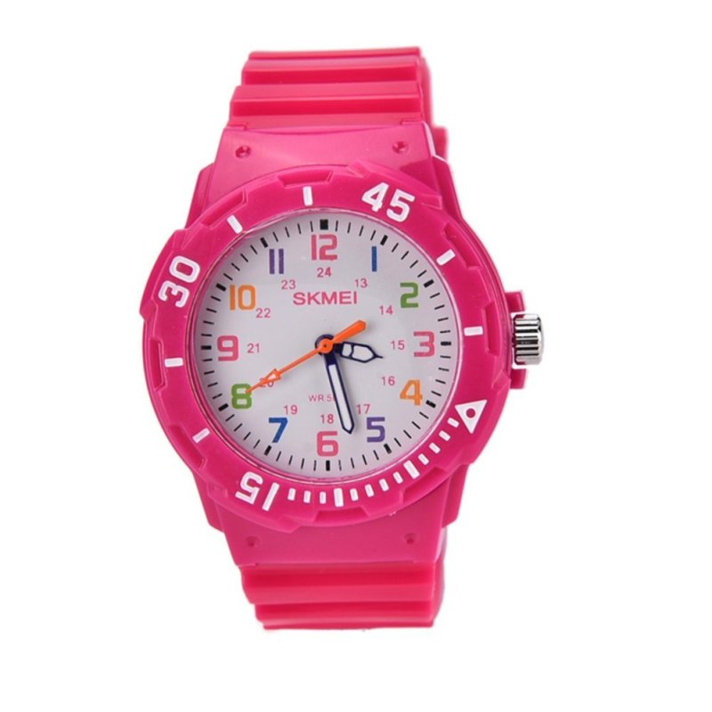Mua Casual Children Jelly Watch For Girls And Boys Quartz Silicone Baby Waterproof Kid Watch Girl Wristwatch Rose - intl