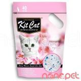 Giá Bán Cat Thủy Tinh Kitcat Hương Sakura Cho Meo Tui 5L Mới