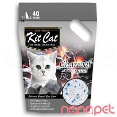 Giá Bán Cat Thủy Tinh Kitcat Than Hoạt Tinh Cho Meo Tui 5L Mới