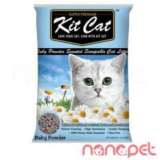 Bán Cat Vệ Sinh Cho Meo Kitcat Baby Powder Tui 10L Rẻ Trong Hồ Chí Minh