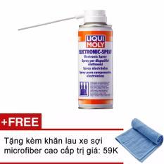 Ôn Tập Chai Xịt Vệ Sinh Va Bảo Vệ Mạch Điện Liqui Moly Electronic Spray 3110 200Ml C Tặng Kem Khăn Xanh Liquimoly Trong Hồ Chí Minh