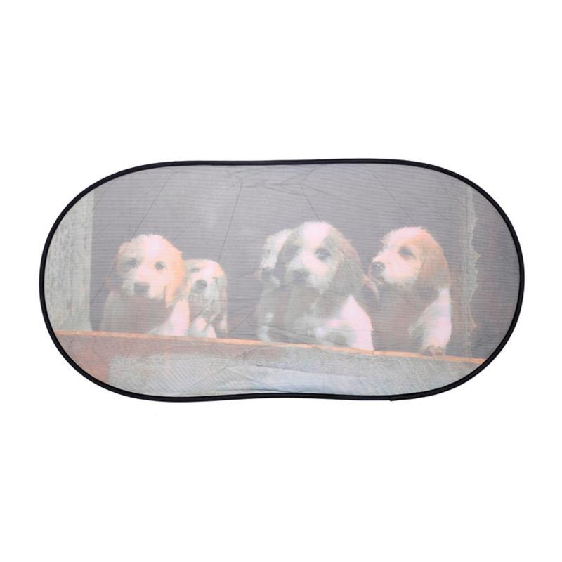 Che nắng sau xe hình NB LX-R006 chó con 50*100CM