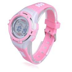 Đồng hồ điện tử đeo tay cho trẻ em chống nước 30M (Hồng) - Quốc tế