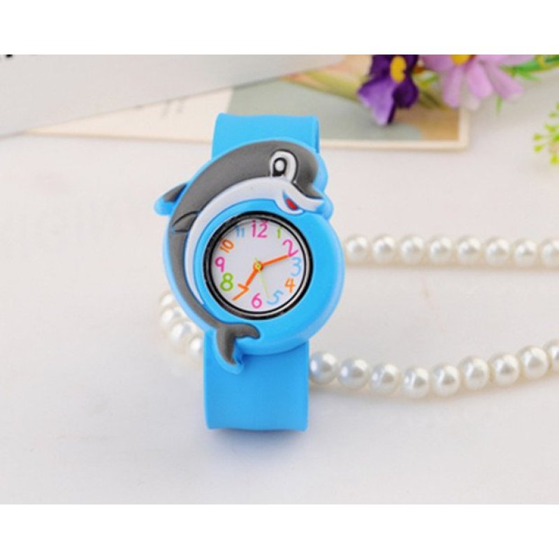 Children Fashion Digital Watches Funny Cartoon Character for Boys (Dolphin) - intl bán chạy