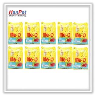 Hanapet-Combo 10 gói ME-O 350gr - Thức ăn dạng hạt cho mèo lớn vị CÁ NGỪ ( 201d) thumbnail