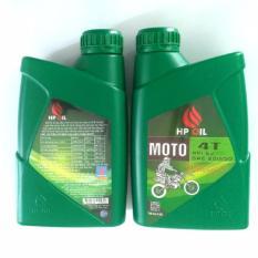 Bán Combo 2 Chai Nhớt Xe May Hpoil Moto 20W50 Nguyên