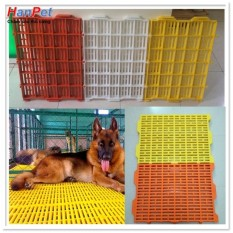 bộ 2 Tấm nhựa sàn chuồng chó mèo, bằng nhựa loại đẹp