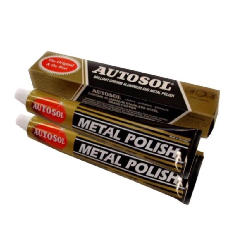 Combo 2 tuýp kem tẩy làm sáng kim loại Metal Polish 75ml Made In Germany