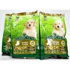 Bán Combo 4 Tui Thức Ăn Cho Con Classic Pets Cp Puppy Mới