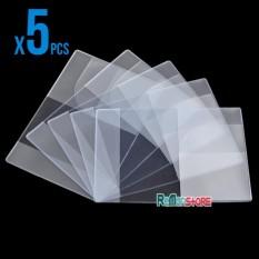 Combo 5 bao passport 3 Ngăn nhựa trong dẻo Loại Dày
