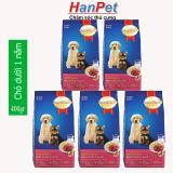 Mã Khuyến Mại Combo 5 Goi Smartheart Puppy 400G Thức Ăn Cao Cấp Dạng Hạt Cho Cho Dưới 1 Năm Tuổi Hanpet 215B