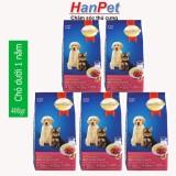 Giá Bán Combo 5 Goi Smartheart Puppy 400G Thức Ăn Cao Cấp Dạng Hạt Cho Cho Dưới 1 Năm Tuổi Hanampet 215B Mới