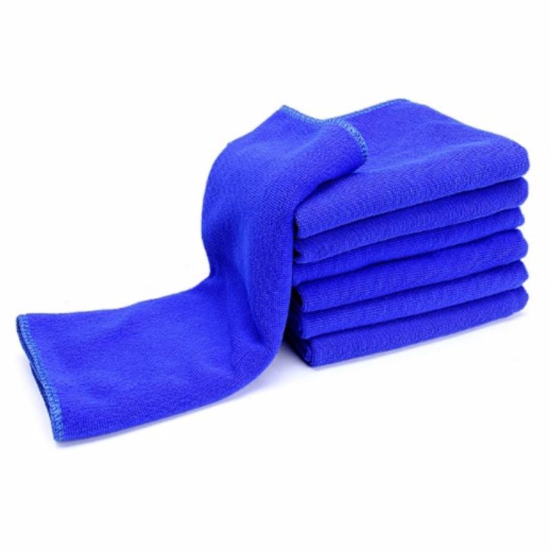 Combo 5 khăn lau xe ô tô kích thước 30 x 60cm