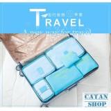 Giá Bán Combo 6 Tui Đựng Đồ Du Lịch Xếp Đồ Gọn Gang Trong Vali Chống Thấm Bag In Bag Gd40 6Tvali Mới