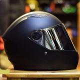 Giá Bán Mũ Bảo Hiẻm Royal M136 Đen Nhám Kính Gương Royal Helmet Nguyên