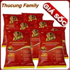Combo 8 Bao Thức ăn Hạt Cho Chó Trưởng Thành Fibs. 500g/ Túi By Thú Cưng Family.