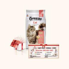 Mã Khuyến Mại Combo Thức Ăn Cao Cấp Cj Cheiljedang O Fresh Cat Voucher 200 000 Rẻ