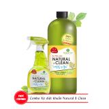 Giá Bán Combo Xịt Khử Mui Diệt Khuẩn Natural Clean Cb Nc 01 Mới
