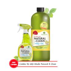 Mua Combo Xịt Khử Mui Diệt Khuẩn Natural Clean Cb Nc 01 Natural Core Trực Tuyến