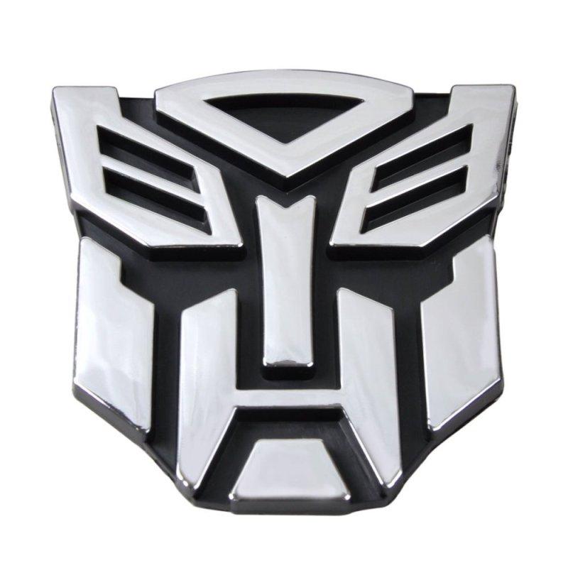 Logo 3D dán trang trí xe ô tô Comebuy88 - quốc tế