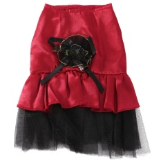 Cute Puppy Pet Dog Lace Flower Skirt Cat Princess Wedding Dress Various Clothes - Intl By Paidbang.