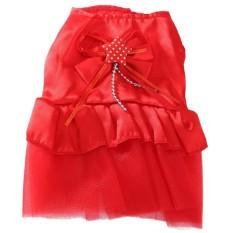 Cún Con đáng Yêu Cho Thú Cưng Chó Ren Hoa Chân Váy Cát Váy Cưới Công Chúa Nhiều Quần Áo-Quốc Tế By Five Star Store.