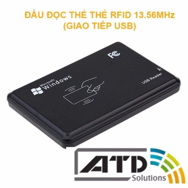 Đầu đọc thẻ RFID mifare 13,56MHz giao tiếp USB