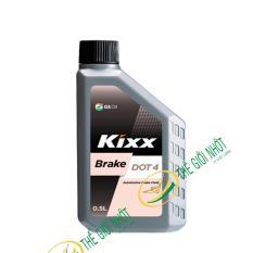 Dầu Thắng Kixx Brake Dot 4 500Ml Hồ Chí Minh