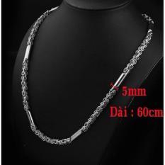 Bán Day Chuyền Inox Nam 5Mm Phong Cach Ca Tinh Dn105 Trang Sức Thời Trang Oem Trực Tuyến