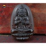 Giá Bán Day Chuyền Mặt Phật Như Lai Đại Nhật Obsidian Khoi Cho Tuổi Mui Than Nguyên