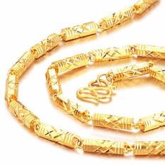Hình ảnh Dây chuyền nam mạ vàng 24K new - Công Nghệ Cao Cấp