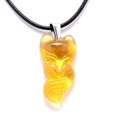 Day Chuyền Nữ Mặt Đa Hồ Ly The Oxford Yellowfox Vang Vietnam Chiết Khấu