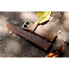 Hình ảnh Dây da đồng hồ handmade, da bò nguyên miếng WS1023