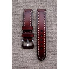 Hình ảnh Dây đồng hồ da bò thật handmade