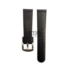 Dây đồng hồ kiểu Vintage - Raku Leather - Size 22 (Đen) bán chạy