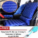 Chiết Khấu Đệm Ghế Phao Lam Mat Ghế Tặng 01 Day Sạc Điện Thoại 2 Trong 1 Cho Iphone Va Samsung