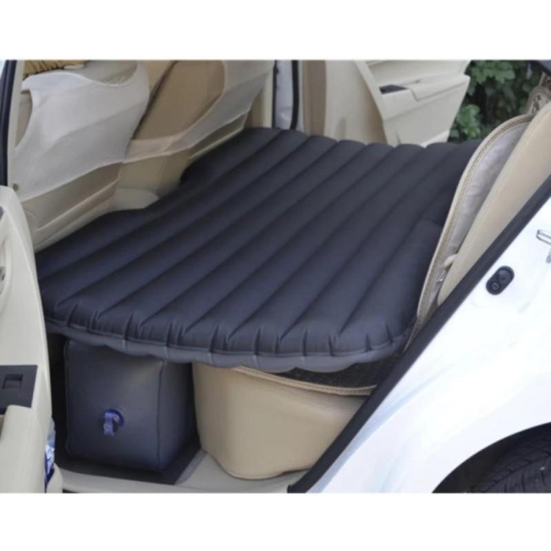 Đệm hơi ô tô vải nhung Carsun cao cấp tiện dụng (Đen) - Kmart