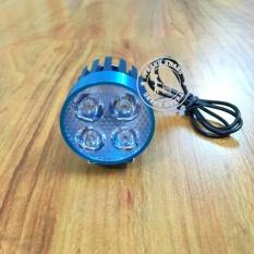 Đèn Fa led trợ sáng L4 blue cao cấp 2 chức năng pha cos gắn xe máy Thanh Khang 002000054 (màu ngẫu nhiên)