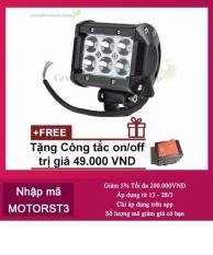 Đèn LED trợ sáng cho xe máy đi phượt Lazada C6 GreenNetworks