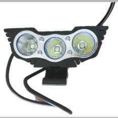 Đèn pha led X2 mắt cú trợ sáng gắn xe máy_3 bóng led