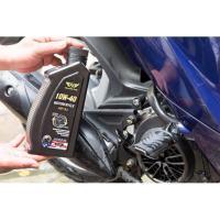 Dịch vụ Thay 01 bình nhớt DP (Mỹ) tặng rửa xe cho xe máy tại Trung tâm Chăm sóc xe DP