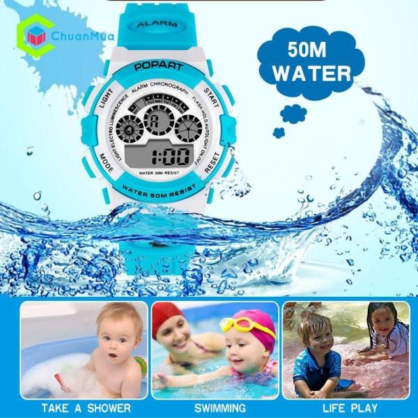 Đồng hồ Bé Gái Popart 310 Điện Tử Chống Nước - DHA500 bán chạy