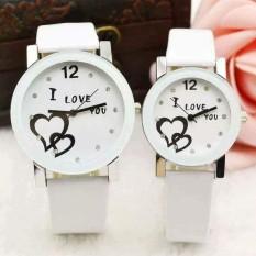 Đồng hồ cặp đôi màu trắng