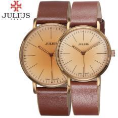 Giá Bán Đồng Hồ Cặp Julius Ju1005 Nau Cổ Điển Julius Nguyên
