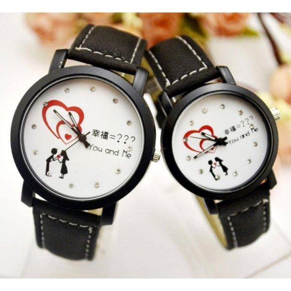 Nơi bán Đồng hồ cặp thấy là thích tim đôi tình nhân - 2 chiếc như hình
