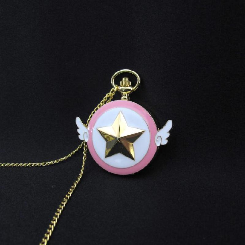 Đồng hồ Cardcaptor Sakura dây chuyền bán chạy