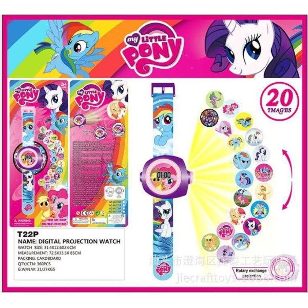 Giá bán Đồng hồ chiếu  20 hình Little Pony đáng yêu